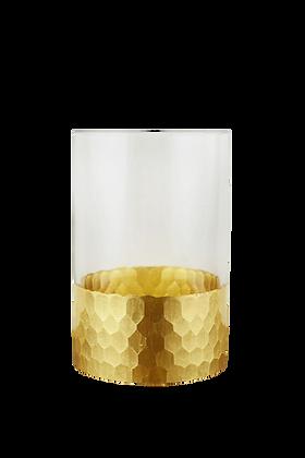 Tall Honeycomb Vase