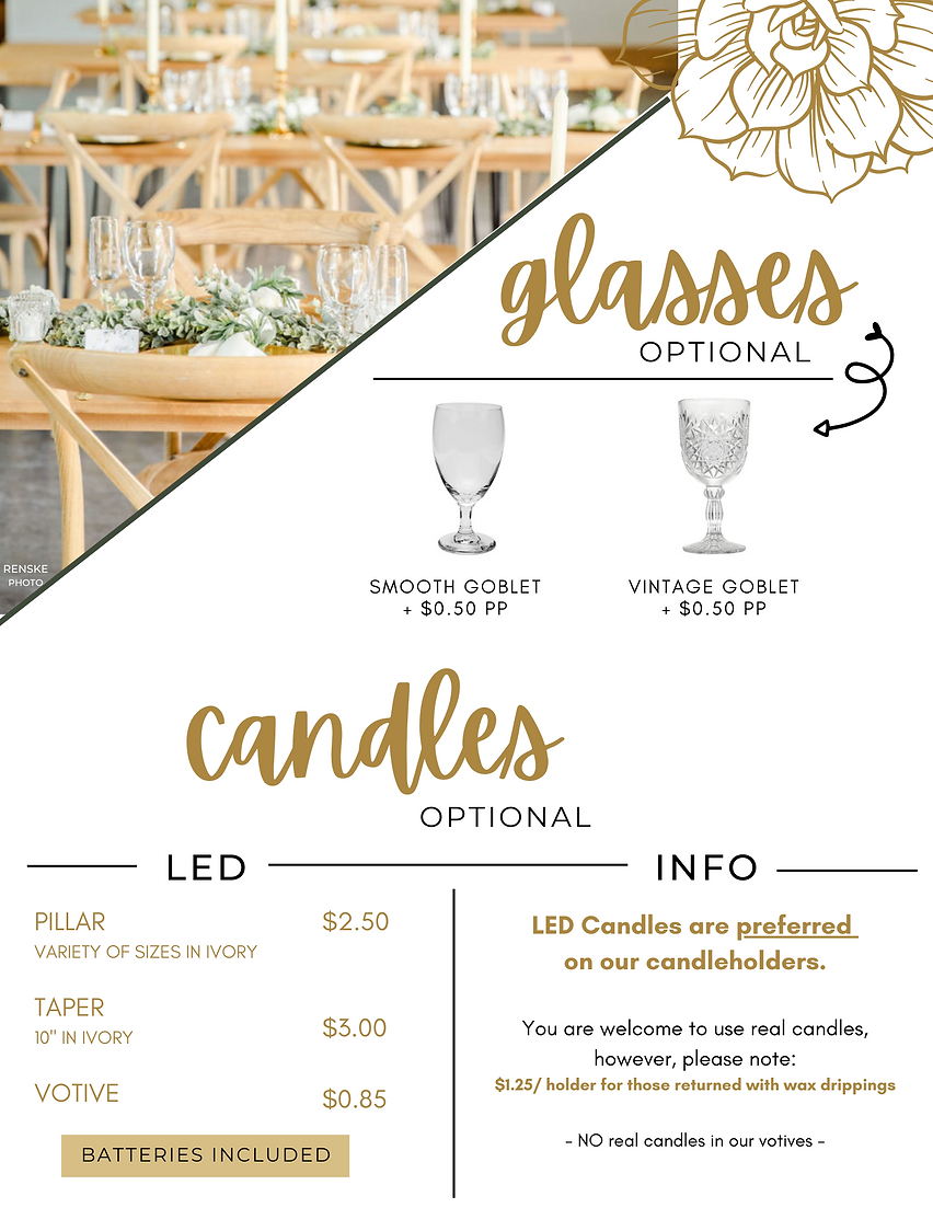 Glass/Candles