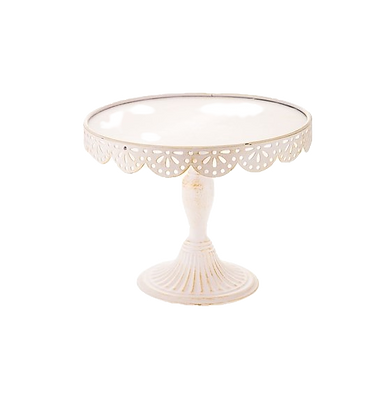 Antique Scalloped Stand