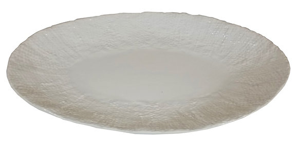 Textured Oval Tray
