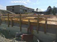 Neubau Holzelementgebäude