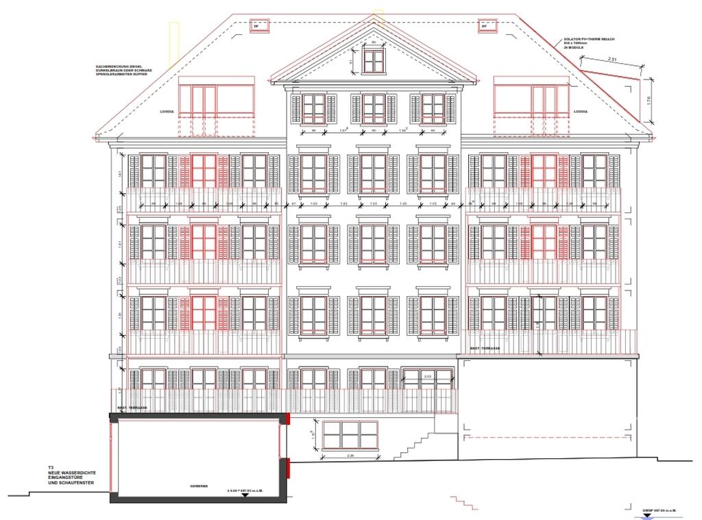 Sanierung Wohnhaus Sonnenstrasse