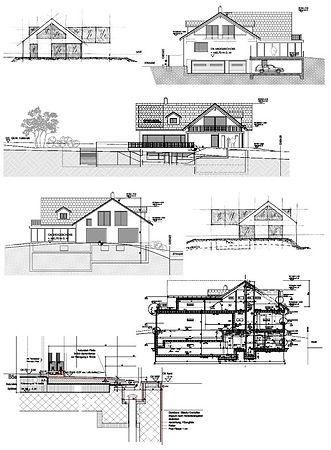 neubau efh schwimmbad einstellhalle hochwertiger ausbau modern personenaufzug villa