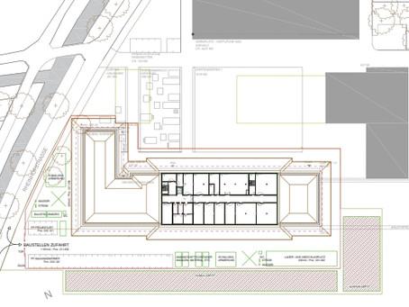 LZSG Salez, Baubeginn Schule + Internat