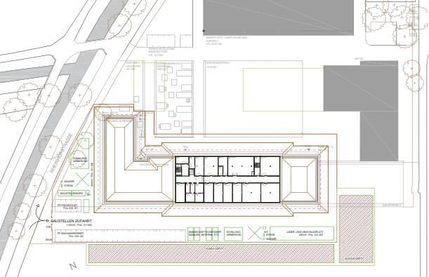 9120 LZSG Baustelleninstallation Schule + Internat