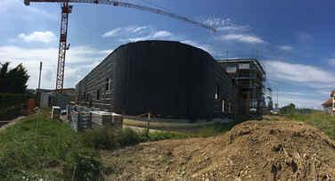 Neubau Produktions- und Lagerhallen