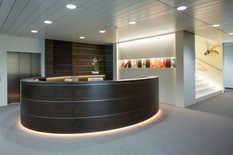 Innenausbau Kundenzone und Backofficebereiche