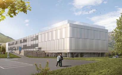Neubau Labor und Forschungsabteilung
