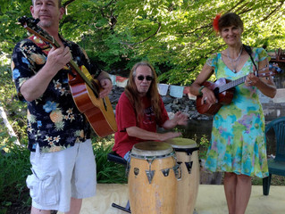 Singing Bridge Sunday May 15- Open Music Jam with The Gaea Star Band 5:30 pm