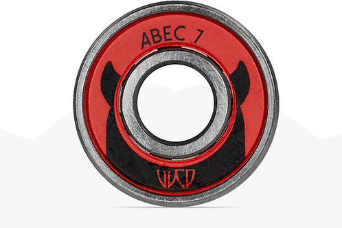 POWERSLIDE - Roulements  Wicked Twincam Abec 7 Freespin