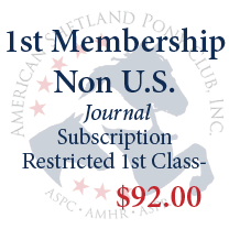 1st Membership - Non U.S. with restricted 1st class mail to Canada or Mexico