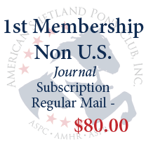 1st Membership - Non U.S. with regular mail