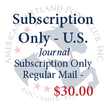 Journal Subscription Only - U.S.