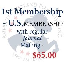 1st Membership - U.S. with regular Journal mailing