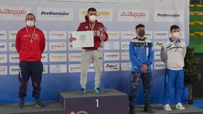 Victor Carabet campione Italiano di lotta grecoromana