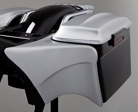 Bagger Side Covers for Stretched Harley-Davidson® Saddlebags