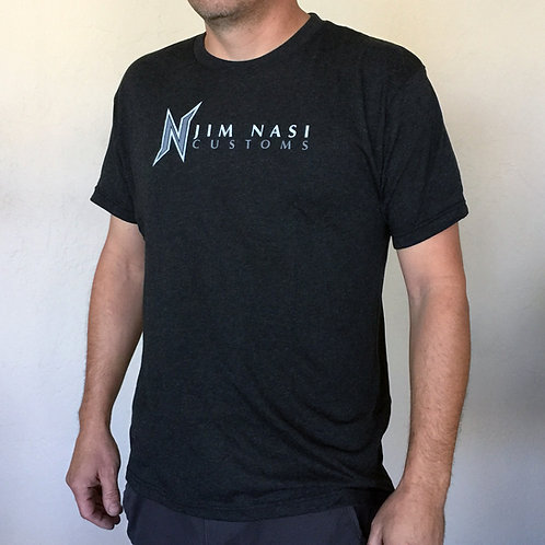 Jim Nasi Customs Top Hat T-Shirt Apparel Black