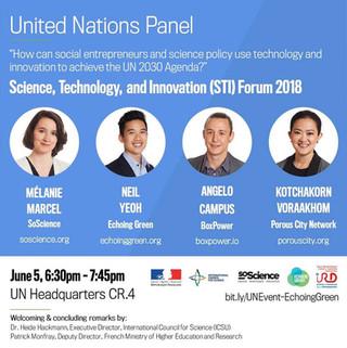 United Nations Panel How social enterprises Achieve UN Sustainable Development Goal