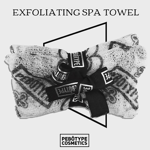 PEBOTYPE® Exfolliating Spa Towel