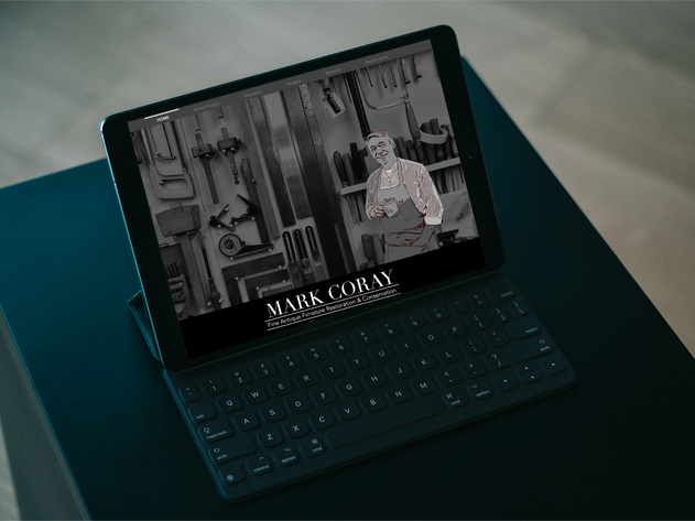 BTEC Mark Coray Rebranding Showcase Site