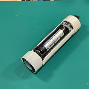 Lightsaber prop electronics housing