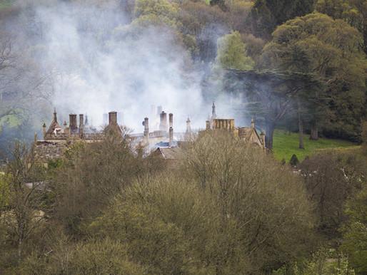 Parnham House Fire