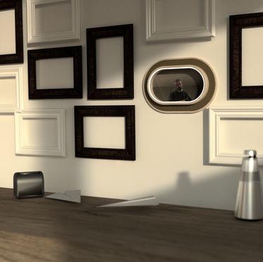 Portal View: Video chat frame