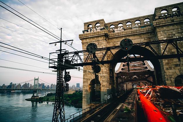TRASH TRAIN, QUEENS, 2018