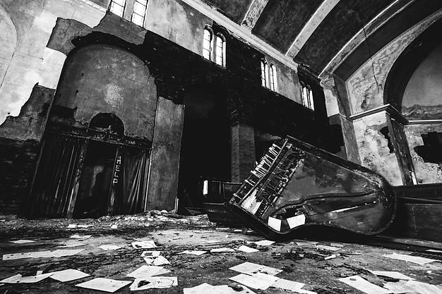 ABANDONED CHURCH, DETROIT, 2016