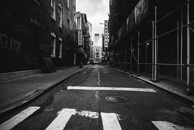 CHINATOWN DURING COVID, NEW YORK, 2020