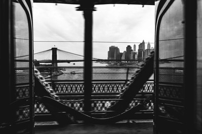 Q TRAIN, NEW YORK, 2018