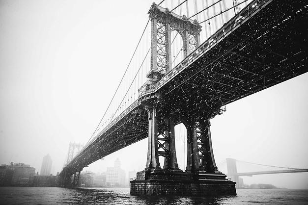 MANHATTAN BRIDGE, NEW YORK, 2019