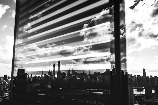 LONG ISLAND CITY REFLECTIONS, QUEENS, 2019