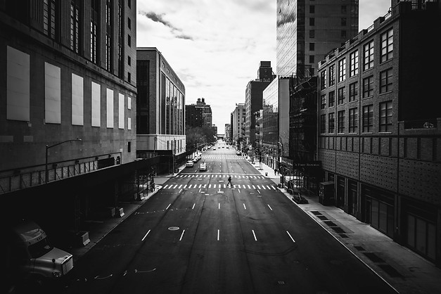 10TH AVE DURING COVID, NEW YORK, 2020