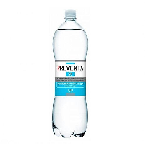 Preventa 25ppm Deuterium Depleted Water DDW Case (12 x 1.5L Bottles)