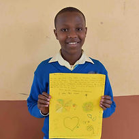 Frank is one of All Around Tanzania Safari's sponsor children.