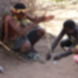 Meet the bushman at Lake Eyasi whilst on Safari with All Around Tanzania Safaris