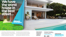 Design Renovate Ad Featured in Scoop Luxury Lifestyle Magazine