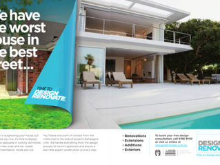 Design Renovate Ad Featured in Scoop Luxury Lifestyle Magazine