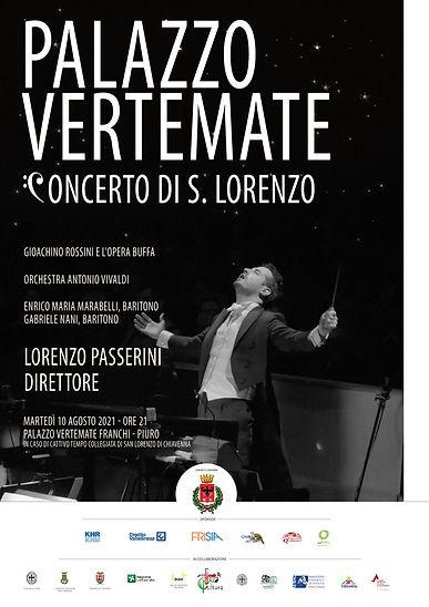 Concerto di San Lorenzo con Lorenzo Passerini direttore