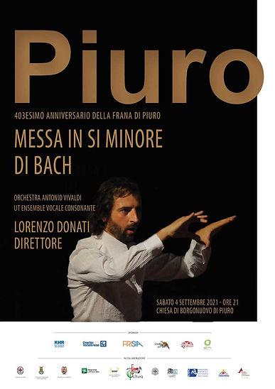 Lorenzo Donati dirige a Piuro