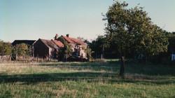Demolished cottages in Bugthorpe