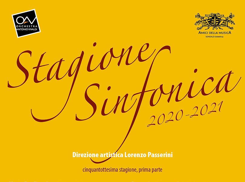 Amici della Musica Sondalo - Stagione Sinfonica 2020-2021