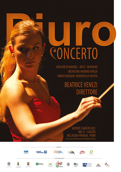 Beatrice Venezi dirige a Piuro