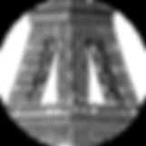 assiette, plate, porcelaine, fine china, longchamp, manufacture, paris, new york, building, tour eiffel, luxe, arts de la table,limoges,sèvres,hermès,monaco