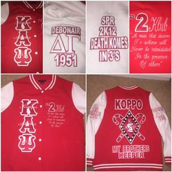 Custom Greek jacket