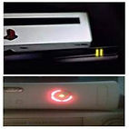 2 luces amirillas, luz parpadeante roja, reballing peru PS3, XBOX
