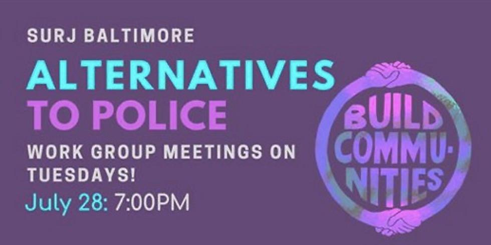 Alternatives to Policing