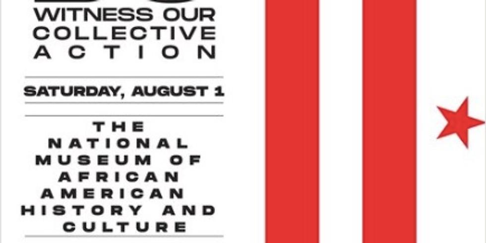 DEMAND DC Saturday, August 1, 2020 3:00 PM  6:00 PM.