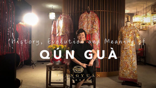 History, Evolution and Meaning of Qun Gua (a.k.a Kua/Kwa) (裙褂) - Part 2